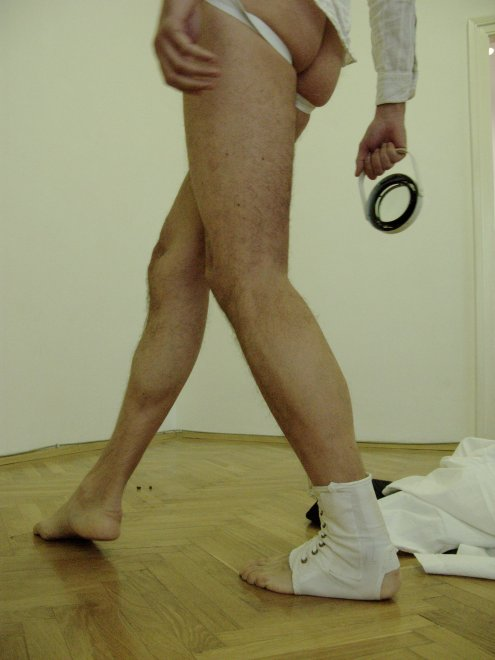 Deprived Meanings, performance by André Alves, VBKÖ, Vienna, 2011
