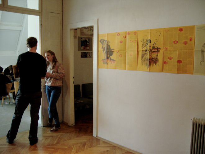 Installation view, VBKÖ, Vienna, 2011