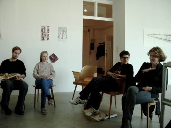Round Table Discussions, VBKÖ, Vienna, 2011