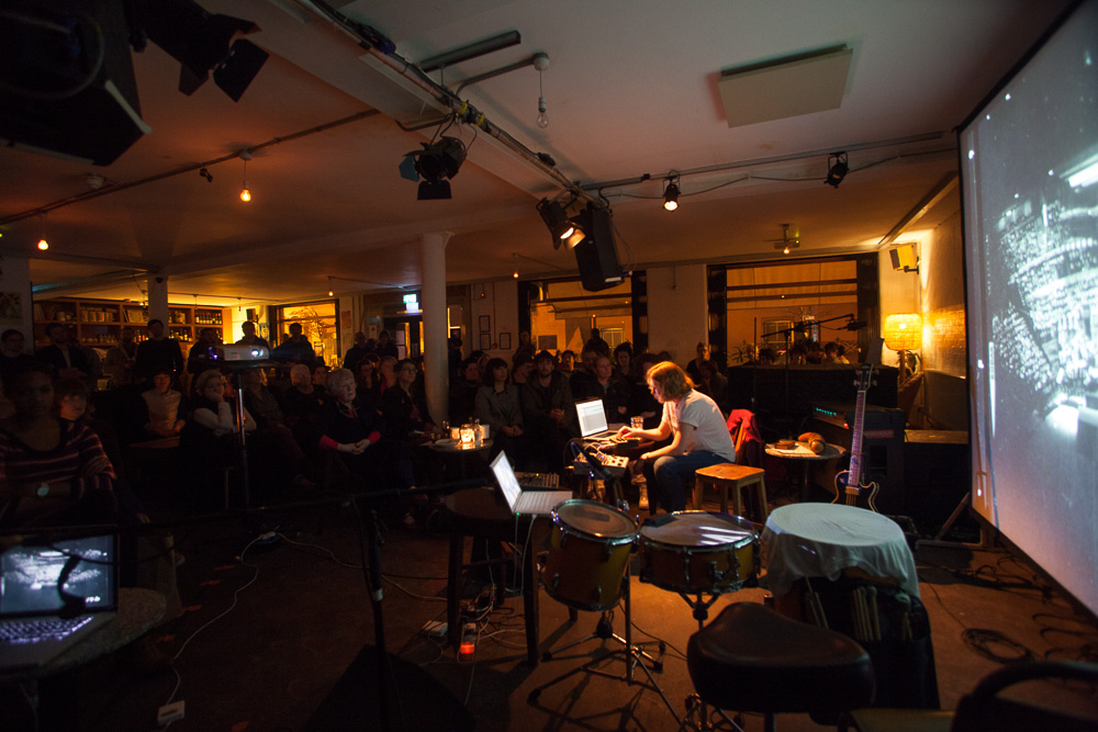 AMIW 2012: The Brilliant and the Dark, B Side Samples for Remix, a project by Open Music Archive, at Cafe OTO