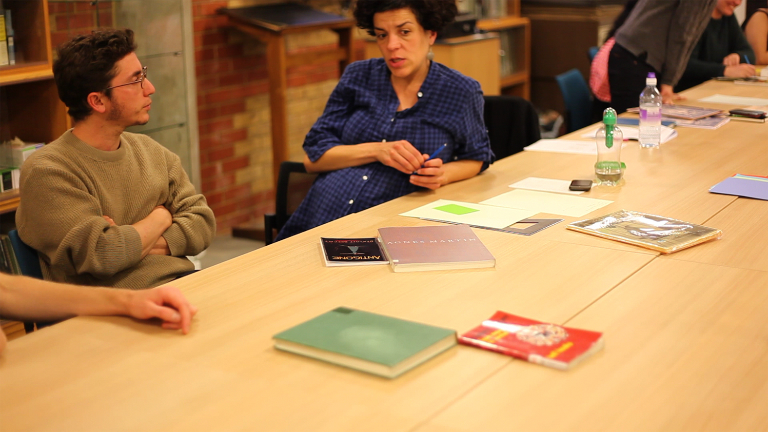 AMIW 2012, workshop with Alex Martinis Roe at WAL, London