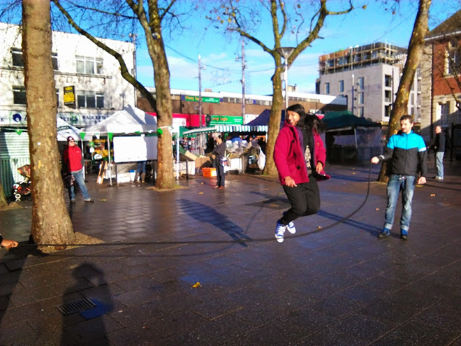 Walthamstow Town Square, London, 2014 for WPAC\'s residency at 38 Hoe Street