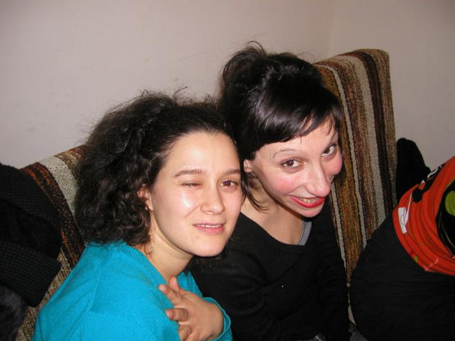 a sala, Porto, Carla & Cristina