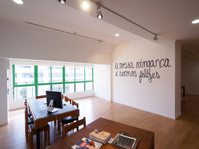 Installation view, Espaço Concas, Caldas da Rainha. Photo by Cristina Assunção, 2017