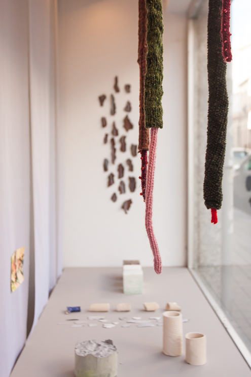 Installation view, 483 Anselmo Braancamp, Porto 2020, photo by Adriana Oliveira