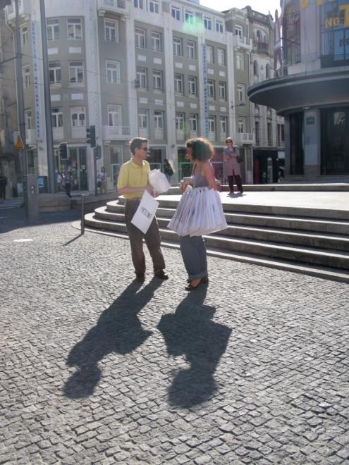convocatórias - Praça D. João I, photo by Mónica Faria
