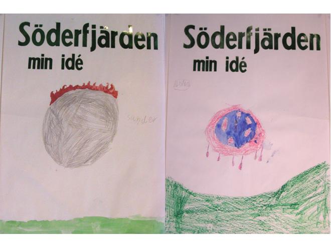 Platform Gallery Vaasa, drawings by sander // ilona