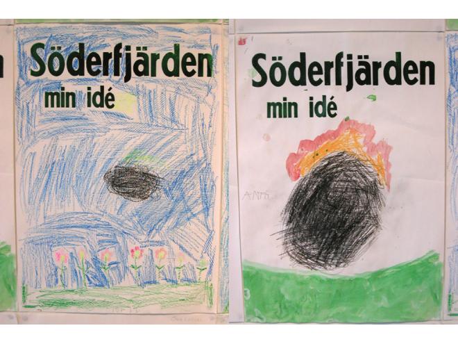 Platform Gallery Vaasa, drawings by Ida // Anti