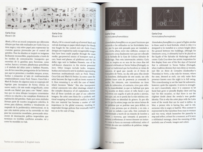 Outonarte, Irmos de Escaparates, catalogue, Spain 2009