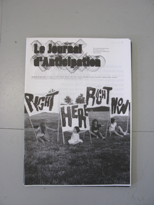 journal nº3, 2036 front cover