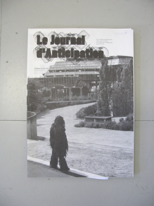 journal nº4, 2060 front cover