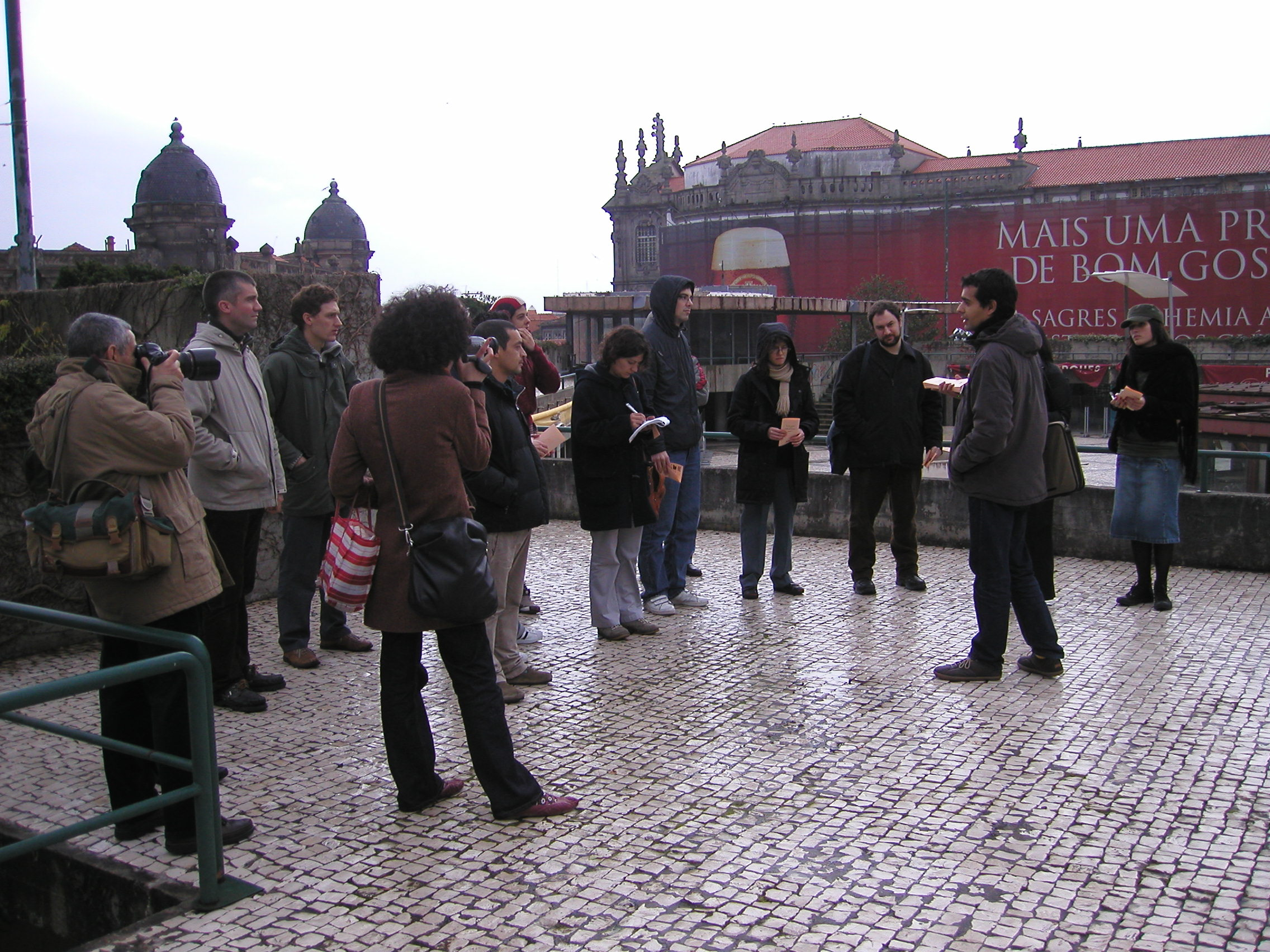guided tour with Ricardo gomes - second day