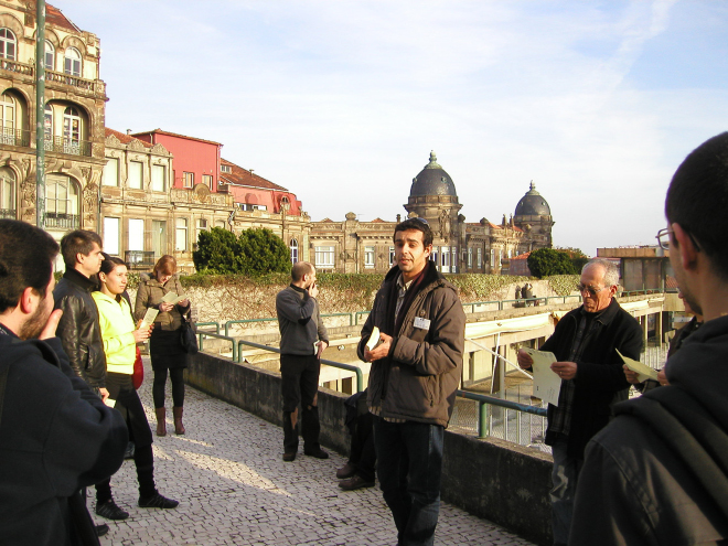 guided tour with Ricardo Gomes