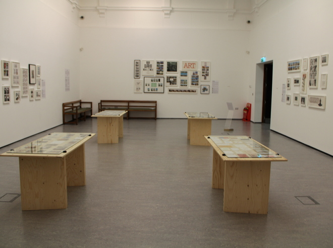 Wish You Were Here? exhibition view, Atkinson Art Gallery 2014, photo by Jeremy Cooper