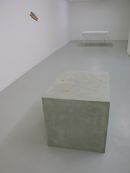 (EUR)... Installation view at Galerie Karima Celestin, Marseille, photo by António Contador
