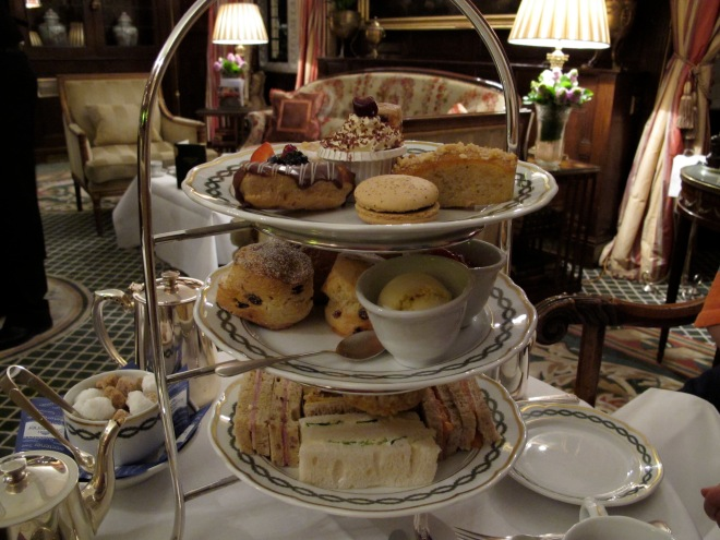 spending one year of Street Money: Afternoon Tea at The Milestone Hotel - Kensington, for two, 2010