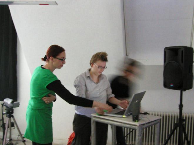 Cyber feminism Past Foward, VBKOE, Vienna 2007