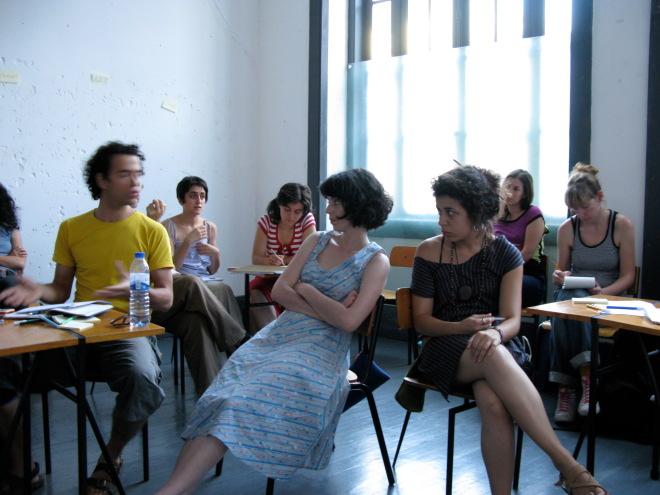 Gesto Cooperativa Cultural, Porto June 2008
