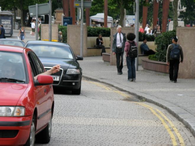 25/07/08 sousveillance  - Centre Promenade, St Augustine Parade, photo by: Fatma Çiftçi