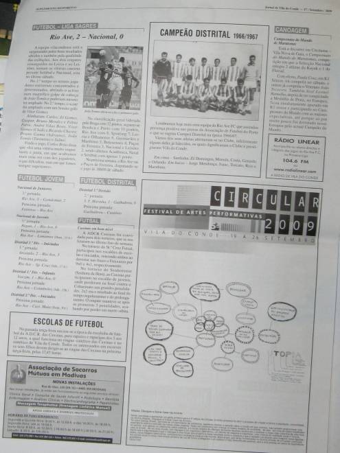 Vila do Conde Newspaper piece